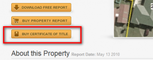 New Certificate of Title for a NZ property on Zoodle