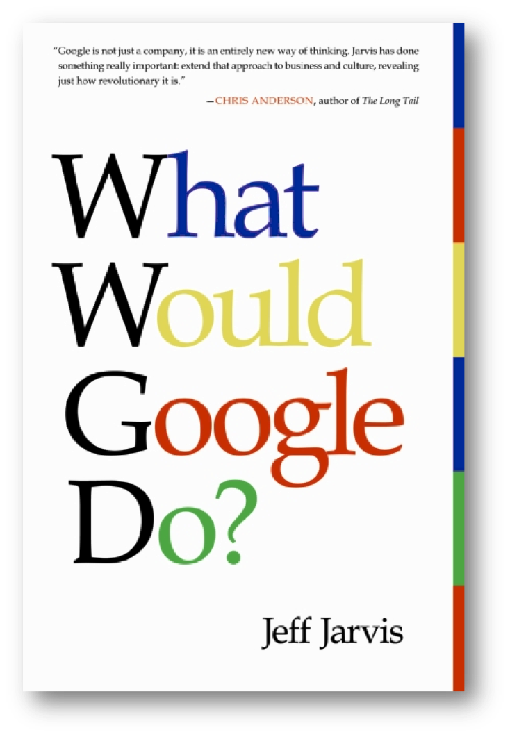 What would Google do? - Jeff Jarvis, NZ Real estate