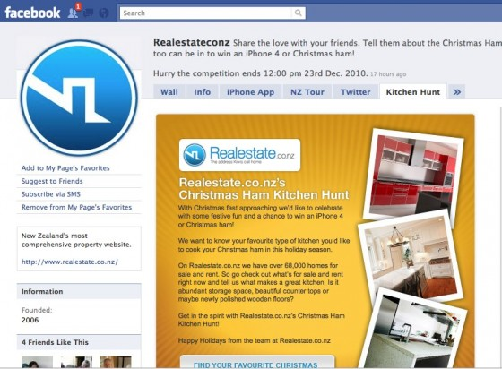 Realestateconz Facebook page