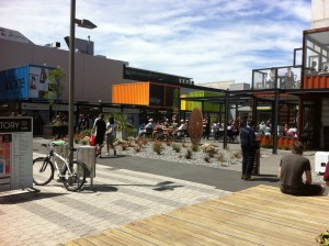 Christchurch's new &quot;container mall&quot;