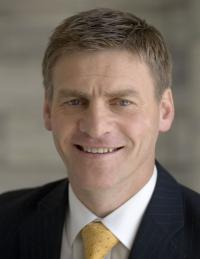 Bill English - NZ Government Finance Minster